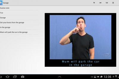 Auslan Tutor Android App