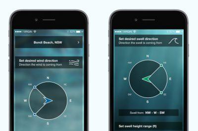 The Surfers Alarm Clock iOS App