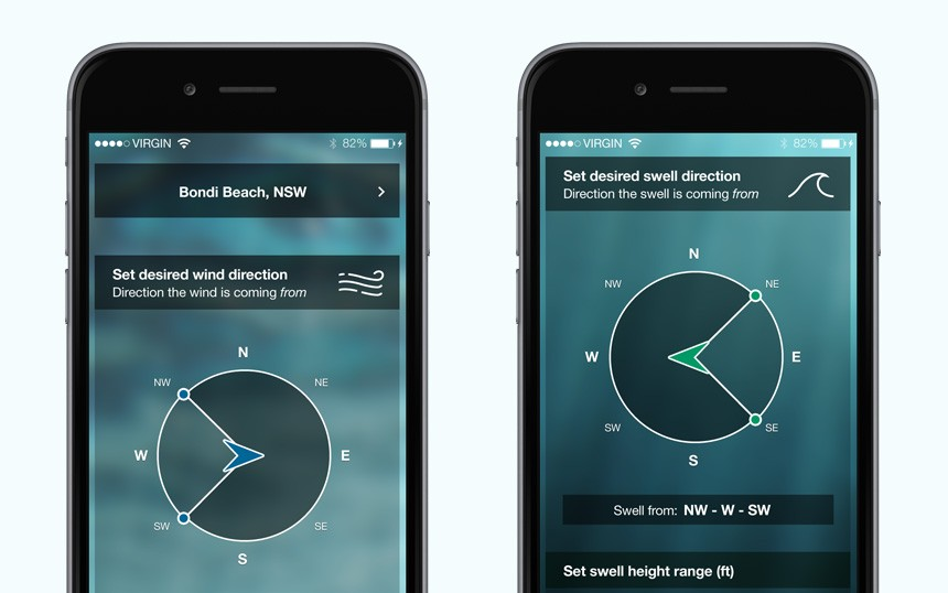 The Surfers Alarm Clock iOS App