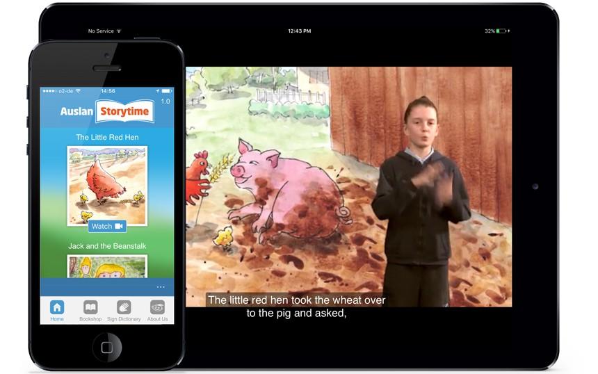 Auslan Storytime iOS App