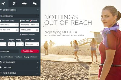 Virgin Australia Digital Design