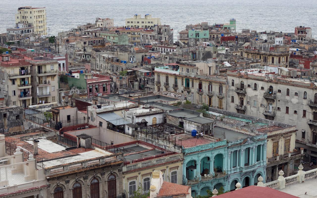 <p>Havana rooftops.</p>